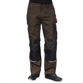 PRISMA BROWN Work trousers 2