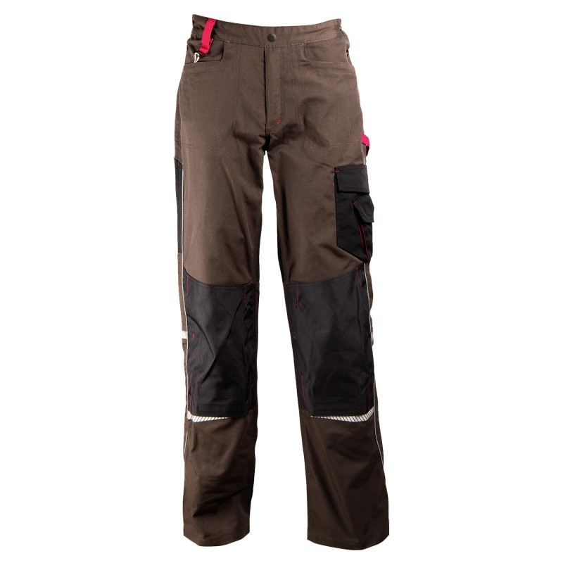 PRISMA BROWN Work trousers
