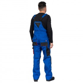 EMERTON ROYAL BLUE Work bib pants 4