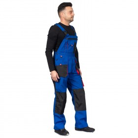 EMERTON ROYAL BLUE Work bib pants 3