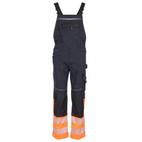 PRISMA REFLEX ORANGE High visibility bib pants
