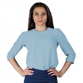 IVON LIGHT BLUE Lady's blouse