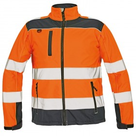 RYTON HV High visibility softshell jacket