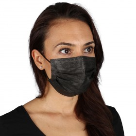 Three-ply medical mask SANI EVO BLACK-FMN99 - TYPE IIR