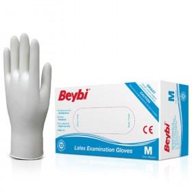 Еднократни ръкавици от латекс BEYBI LATEX