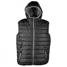 Мъжки елек SPEEDY HOOD VEST BLACK/GREY