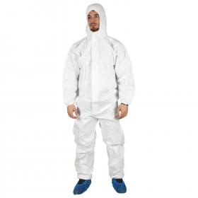 PAYPER C500 TYPE 5&6 Protective hooded coverall