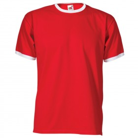 RINGER TEE RED T-shirt