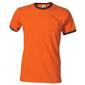 RINGER TEE ORANGE T-shirt