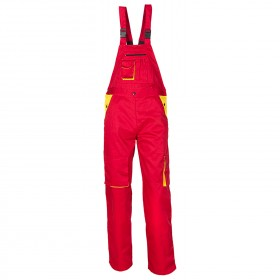 LD RED Work bib pants