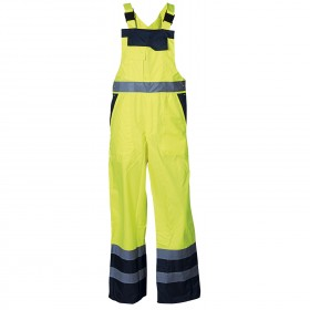 PONGO YELLOW High visibility bib pants