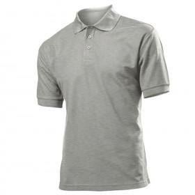 Тениска с яка SIFAKA GREY