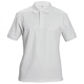 Тениска с яка SIFAKA WHITE