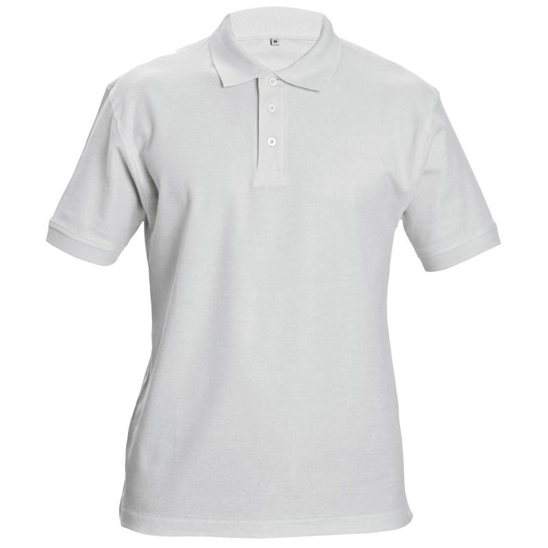 SIFAKA WHITE Polo t-shirt