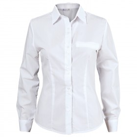 ELEGANCE WHITE Lady's long sleeve shirt