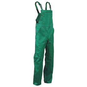 REX-BA LIGHT GREEN Work bib pants