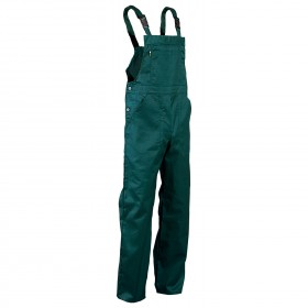 REX-BA GREEN Work bib pants
