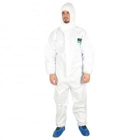 Защитен гащеризон с качулка COVERALL WHITE 2.0 PNG TYPE 5, 6