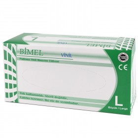 BIMEL VINYL PF Disposable vinyl gloves