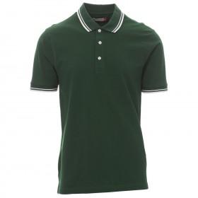 Тениска с яка PAYPER SKIPPER GREEN