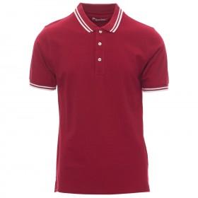 Тениска с яка PAYPER SKIPPER BORDEAUX