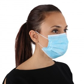 Медицинска маска SANI EVO BLUE-CN99 - TYPE IIR - 50 бр.