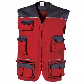 ASIMO RED Work vest