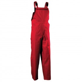 REX-BA RED Work bib pants