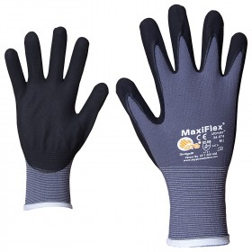 ATG MAXIFLEX ULTIMATE Nitrile dipped gloves