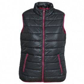FLASH BLACK/BORDEAUX Lady's vest