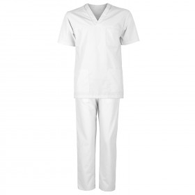 M3 WHITE Medical tunic with pants