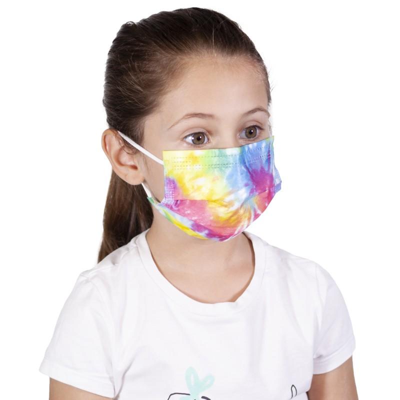 Хигиенна маска SANI 3 KIDS RAINBOW