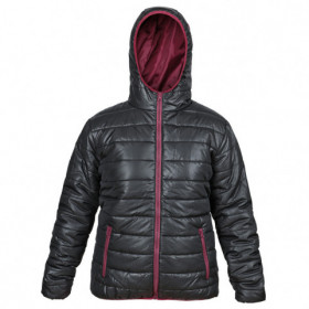 FLASH BLACK/BORDEAUX Lady's jacket