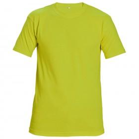 Сигнална тениска TEESTA FLUORESCENT YELLOW