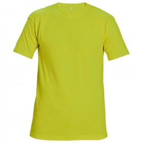 TEESTA FLUORESCENT YELLOW High visibility t-shirt