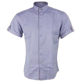 Мъжка риза GABRIELE PURPLE