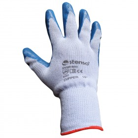 Ръкавици топени в латекс DIPPER BLUE