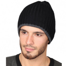 ASPEN BLACK Winter hat