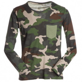 PAYPER LIVING CAMOUFLAGE Long sleeve t-shirt 1