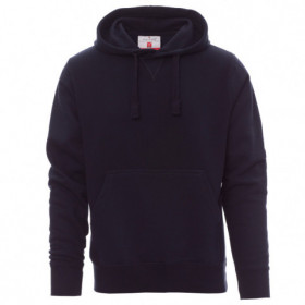 PAYPER TORONTO NAVY Hooded long sleeve t-shirt