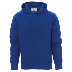 PAYPER TORONTO ROYAL BLUE Hooded long sleeve t-shirt