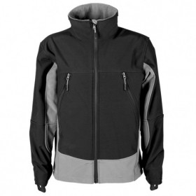 MAKALU BLACK Softshell jacket