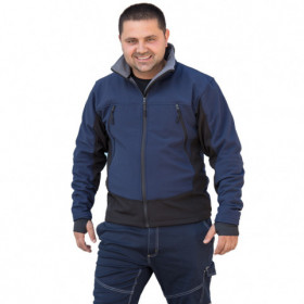 MAKALU NAVY Softshell jacket