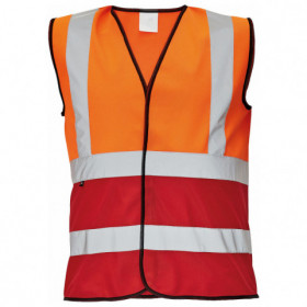 LYNX DUO High visibility vest 1