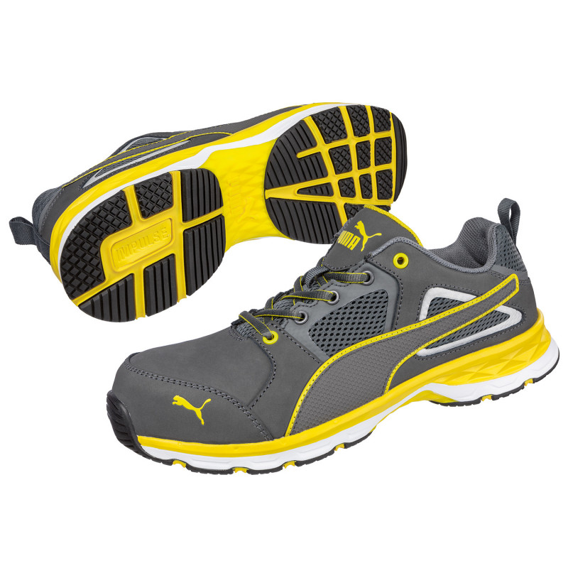 PUMA PACE 2.0 YELLOW LOW S1P ESD HRO SRC Safety shoes