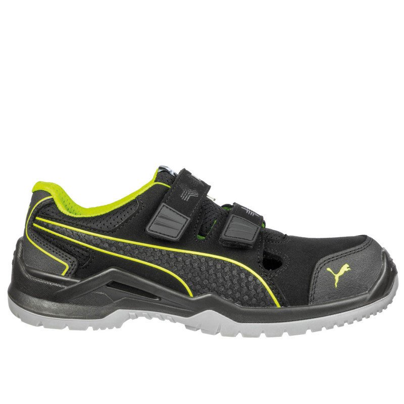 PUMA NEODYME GREEN LOW S1P ESD SRC Safety shoes