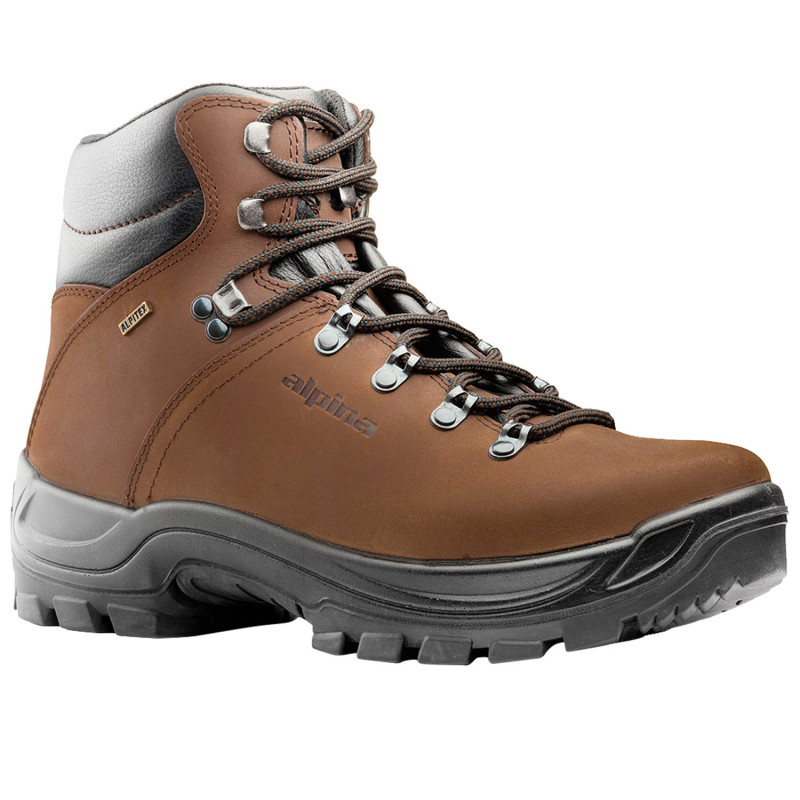 ALPINA TUNDRA BROWN Hiking shoes