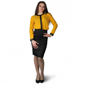 AMANTE YELLOW Lady's blouse 1