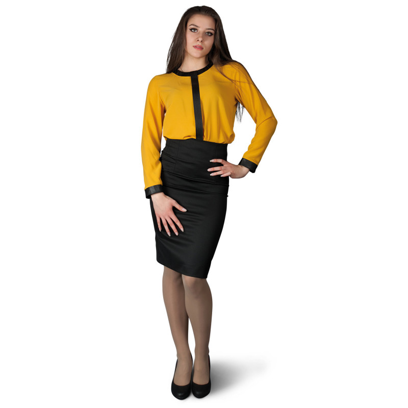 AMANTE YELLOW Lady's blouse