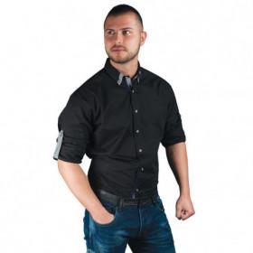 Мъжка риза ALBERTO BLACK 1